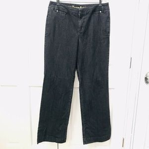 Avenue Jeans Women's Size 14 Tall The Trouser Fit